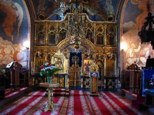 manastirea durau interior